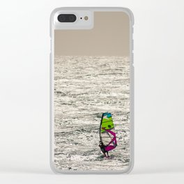 Windsurf Clear iPhone Case