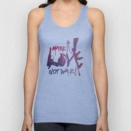 make love, not war! Unisex Tank Top