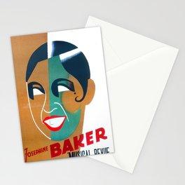 Josephine Baker Vintage Poster for Stockholm Stationery Cards