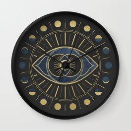 The Third Eye or The Sixth Chakra Wall Clock
