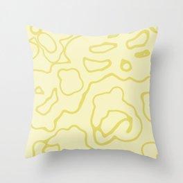 """Doray"" - (beige) Throw Pillow"