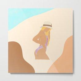 Beach Girl / That summer feeling  Metal Print