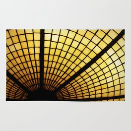 Yellow Stained Glass Rug