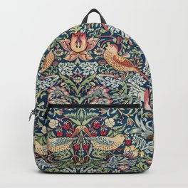 Strawberry Thief by William Morris  Backpack