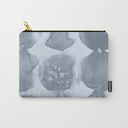 Shibori Wabi Sabi Indigo Blue on Sky Blue Carry-All Pouch