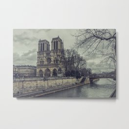 Notre Dame 1 Metal Print