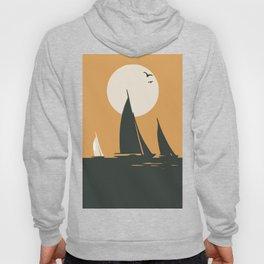 White sail Hoody
