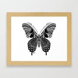 Butterfly Spirit Animal Framed Art Print
