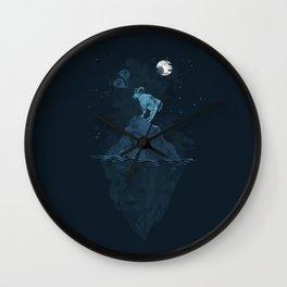 Lost Goat Wall Clock