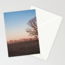 Midwest at Dusk Stationery Cards