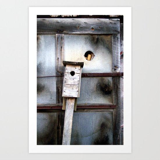 birds house Art Print
