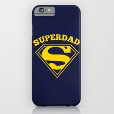 Superdad | Superhero Dad Gift iPhone 6s Slim Case