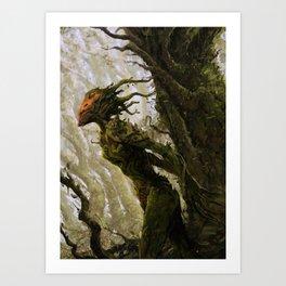Scavenger Heroes series - 5 Art Print