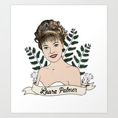 Twin Peaks (David Lynch) Laura Palmer Art Print