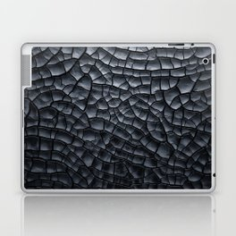 Gothic texture | Black and grey texture | Cracked design Laptop & iPad Skin