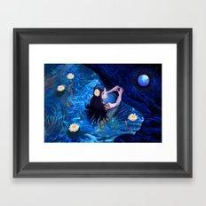 Piscean Framed Art Print