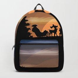 Santa Claus lost Backpack