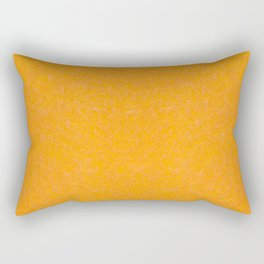 Yellow orange material texture abstract Rectangular Pillow