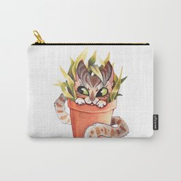 Cat Plant  Carry-All Pouch
