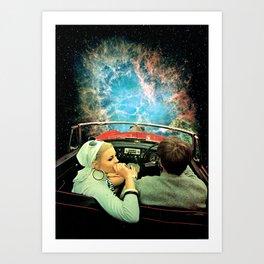 Space Riders Art Print