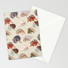 Hermit Crabs Stationery Cards