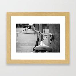 i love bikes Framed Art Print