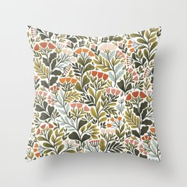 Month of May ~ white Throw Pillow