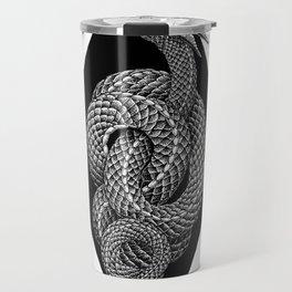 Corrupt Me (black and white) Travel Mug