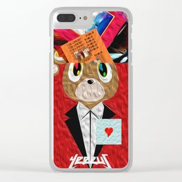 Hip Hop KanyeWest Compilation Clear iPhone Case