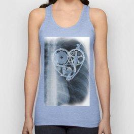 bike lover X-ray Unisex Tank Top
