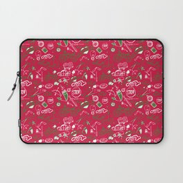 Traditional Christmas Medley - by Jezli Pacheco Laptop Sleeve