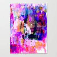 celestial Canvas Prints featuring Celestial by Amy Sia