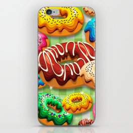 Donuts Party Time iPhone Skin