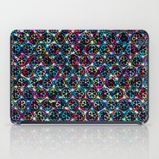 Stardust Geometric Art Print. iPad Case