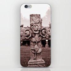Cross of roses iPhone & iPod Skin