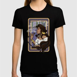 Art Nouveau Lady Skylark T-shirt