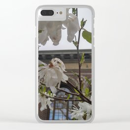 Magnolia Library Clear iPhone Case