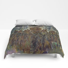 Nebulous Portal Emergence (Electric Gateway) Comforters