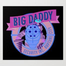 Big Daddy Art Print