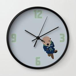 The Littlest Seahawks Fan Wall Clock