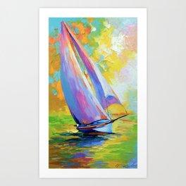 Fresh wind Art Print