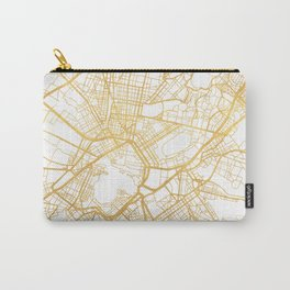 ATHENS GREECE CITY STREET MAP ART Carry-All Pouch