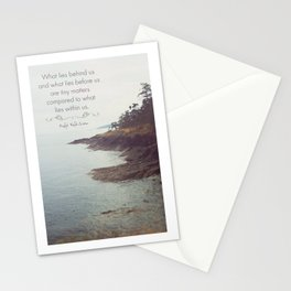 What lies before us Stationery Cards