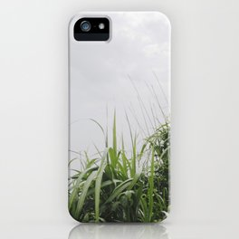 Nostalgia-Home Grass iPhone Case