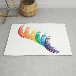 Disconnected Rainbow Rug