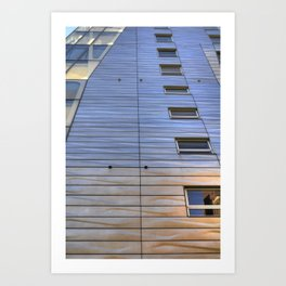 Highline Architecture Art Print