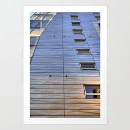 Highline Architecture Art Print