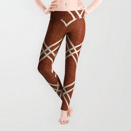 Caro in Rust Leggings