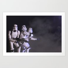 Only Imperial Stormtroopers are so precise Art Print