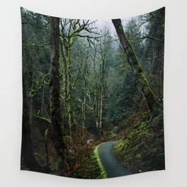 Columbia Gorge Trail Wall Tapestry
